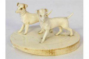 ivory figure group