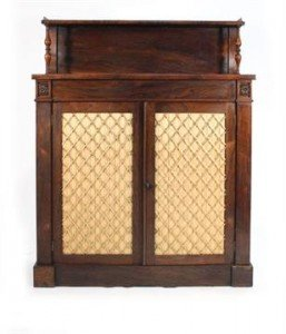 rosewood chiffoniere