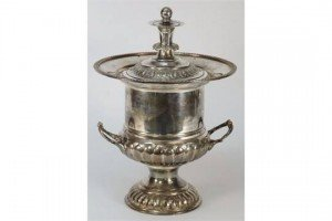 Edwardian plated ice bucket