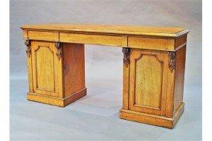 pedestal sideboard