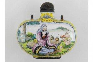 porcelain snuff bottle