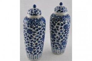lidded baluster vases