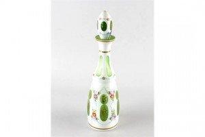 overlay glass bottle