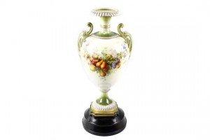 twin handled vase
