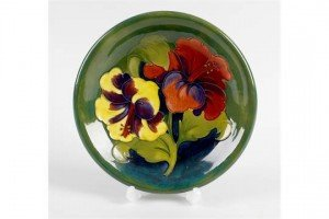 Moorcroft pottery dish