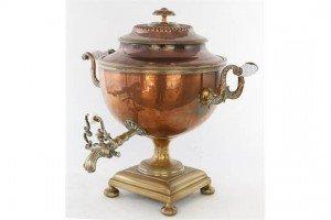 copper samovar