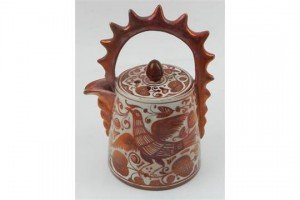 lustre ware teapot