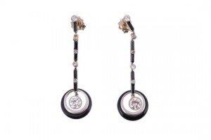 drop ear pendents