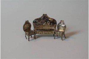 dolls house miniature suite