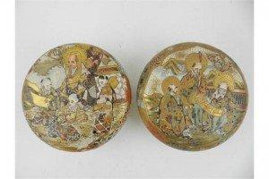 satsuma ware bowls