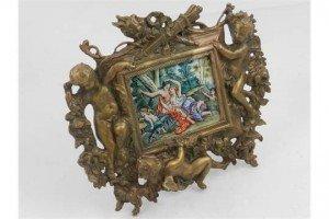 Art Nouveau style frame
