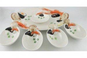 ceramic seafood platter