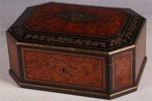 amboyna casket