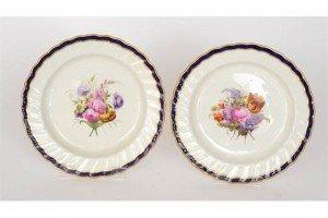 porcelain cabinet plates