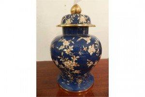 porcelain baluster shaped urn