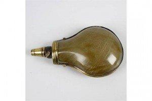 horn powder-flask