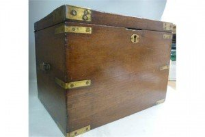 mahogany campaign box
