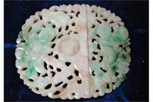 jade belt buckle