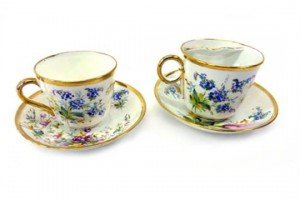 porcelain 'marriage' cups