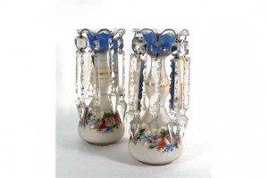ceramic table lustre's