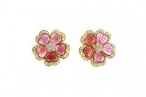 floral ear clips
