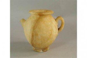 alabaster vessel