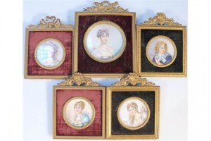 Napoleonic watercolours