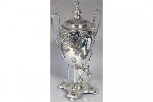 silver plated samovar