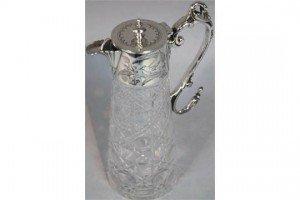 glass claret jug