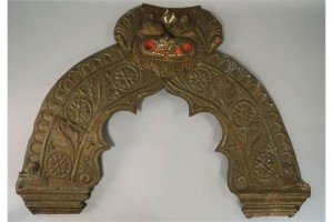 metal arched panel,