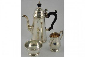 three piece coffee set