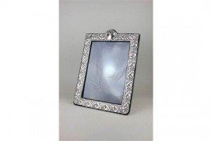 silver photograph frame