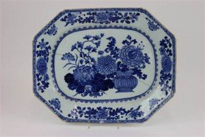 porcelain meat plate