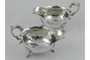 silver gravy boats