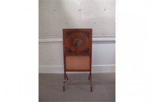 satinwood fire screen