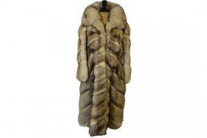 long-length fur coat