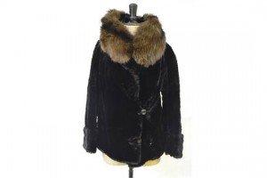 vintage moleskin fur jacket