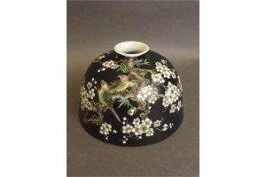 porcelain ink pot