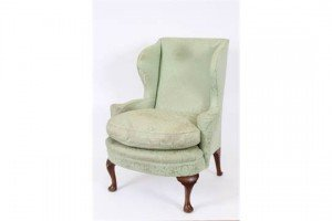 wing back easy chair