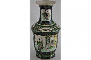 Noire porcelain vase