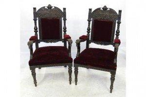 oak hall chairs