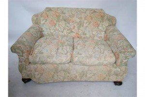 upholstered two seater sofa,