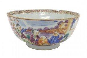 porcelain pedestal bowl