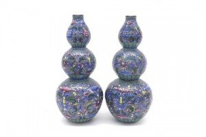 double gourd vases