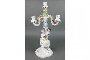 porcelain candelabrum