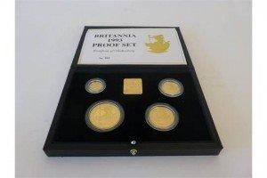 Britannia proof sets i