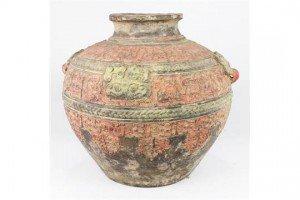 Chinese archaistic ceramic jar
