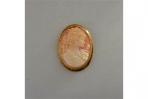 cameo of Diana