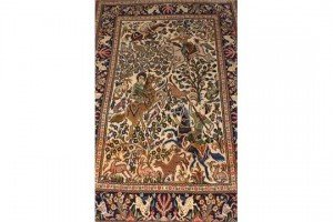 ivory ground rug
