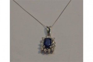 Diamond Pendant,